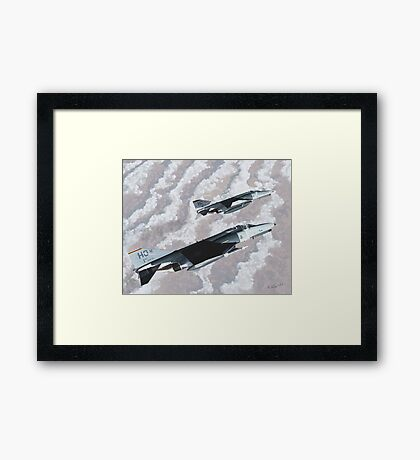 """""""Target Acquired"""" Framed Print"""