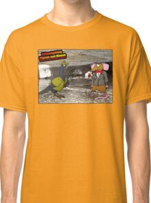 Crime Fighting Pigeon and Mouse  Classic T-Shirt