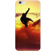 Catching Waves surf iPhone Case/Skin