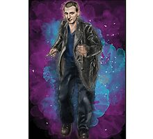 Christopher Eccleston as Doctor Who Photographic Print