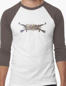 raw power Men's Baseball ¾ T-Shirt