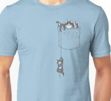 Pocket cat / Pocket Kittens Unisex T-Shirt