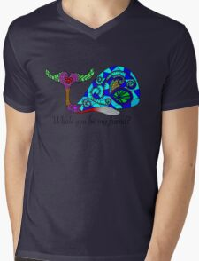 Whale you be my friend? Mens V-Neck T-Shirt