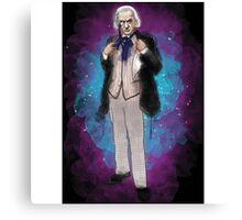 William Hartnell as Doctor Who Canvas Print