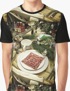 Holidays Table Setting Graphic T-Shirt