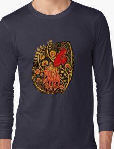 Firebird Khokhloma Long Sleeve T-Shirt