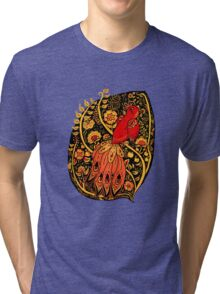 Firebird Khokhloma Tri-blend T-Shirt