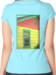 Colorful House Women's Fitted Scoop T-Shirt
