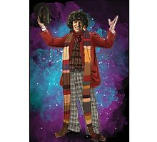 Tom Baker as Doctor Who Photographic Print