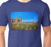 New Slains Castle at Moonlight (Cruden Bay, Aberdeenshire, Scotland) Unisex T-Shirt