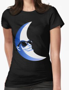 Moonman Womens Fitted T-Shirt