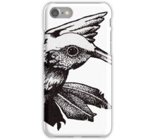 Graphic Hummingbird iPhone Case/Skin