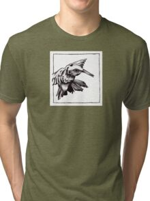 Graphic Hummingbird Tri-blend T-Shirt