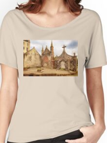 Delgatie Castle Folly (near Turriff, in Aberdeenshire, Scotland) Women's Relaxed Fit T-Shirt