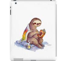 Cozy Sloth iPad Case/Skin