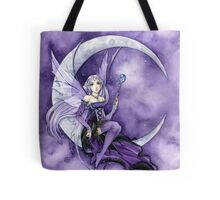 Purple Moon Fairy Tote Bag