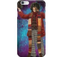 Tom Baker as Doctor Who iPhone Case/Skin