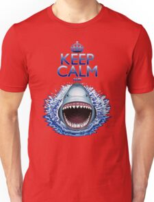 Keep Calm and...Shark Jaws Attack! Unisex T-Shirt