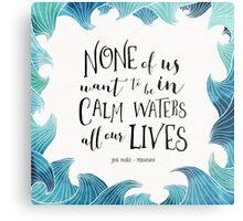 Calm Waters - Persuasion - Austen Metal Print