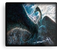Saphira The Dragon From The Hit Eragon Movie Metal Print