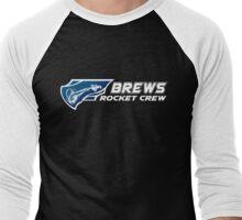 Brews Rocket Crew 2 Men's Baseball ¾ T-Shirt