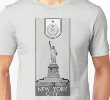 New York City Seal - Statue of Liberty Unisex T-Shirt