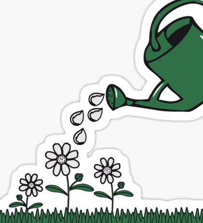 Garden flowers watering Sticker