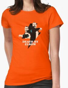Death By Elbow Womens Fitted T-Shirt