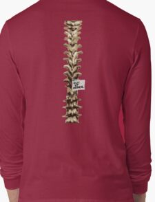 Out of Order Spine Long Sleeve T-Shirt
