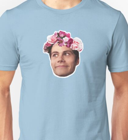 FlowerCrown Crazy Face Stiles Unisex T-Shirt