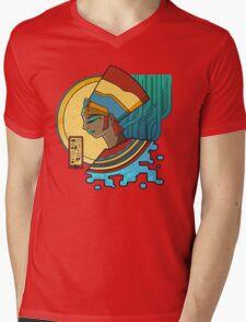 Nefertiti Nouveau Mens V-Neck T-Shirt