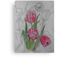 """Let Love In"" Tulips Canvas Print"