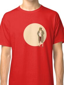 The Dude The big Lebowski Circle Classic T-Shirt