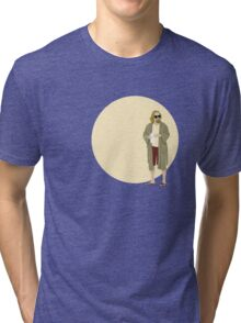 The Dude The big Lebowski Circle Tri-blend T-Shirt