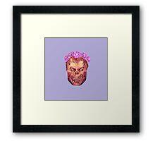 Flower Crown Charon Framed Print
