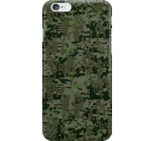 Deep Woods Digital Camo iPhone Case/Skin