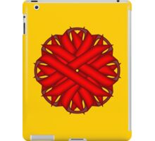 Red Flower Ribbon iPad Case/Skin
