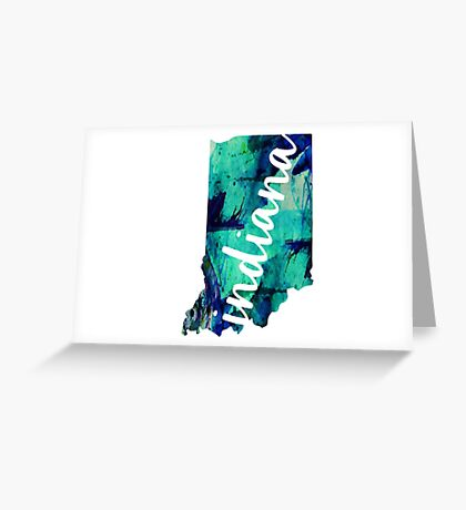 Indiana Greeting Card