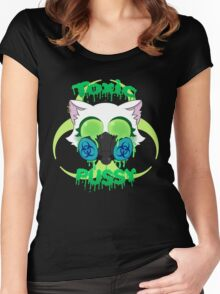 Toxic Pussy Women's Fitted Scoop T-Shirt