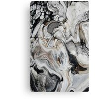 Grey Marble effect Canvas Print