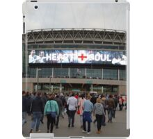 Wembley Stadium - Heart & Soul iPad Case/Skin