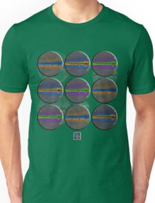 """Positron Cloud Chambers - COLORS""© Unisex T-Shirt"