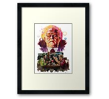 So Tell Me About Cabbot Framed Print