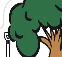 Garden baumgarten tools Sticker