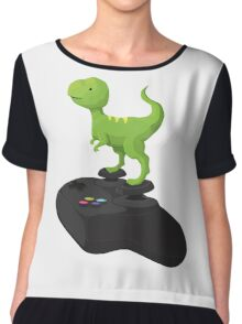 Toy T-Rex Gamer Chiffon Top