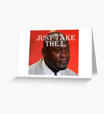 "Mike ""L"" Jordan Greeting Card"