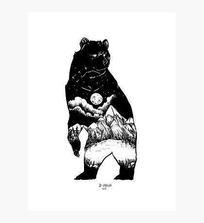 Black Bear Mountain Photographic Print