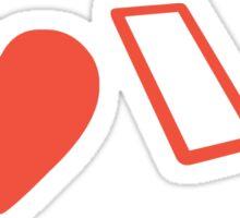 I Love Laravel Sticker