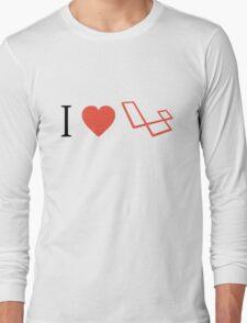 I Love Laravel Long Sleeve T-Shirt