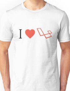 I Love Laravel Unisex T-Shirt